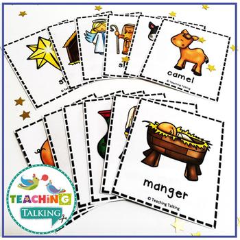 Nativity Vocabulary Cards (Freebie!)
