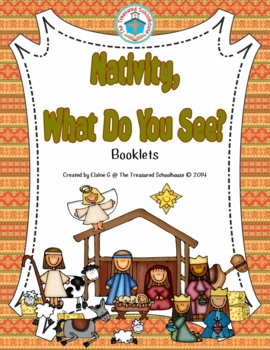 Christmas Nativity, What Do You See? Booklets