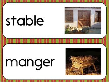 Nativity Word Wall -- Early Elementary