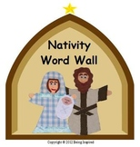 Nativity Word Wall and Flashcards
