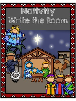 Nativity Write the Room