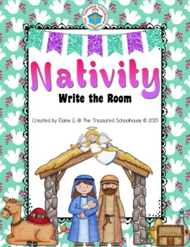 Christmas Nativity Write the Room