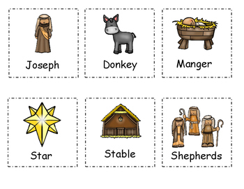 Nativity Write the Room Activity
