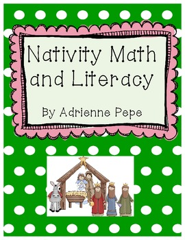 Nativity/Bible Math and Literacy Activities