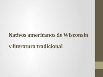 Nativos Americanos de Wisconsin y literatura tradicional (Spanish)