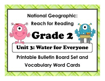 National Geographic Reach-Reading: Grade 2 - Unit 3 Bullet