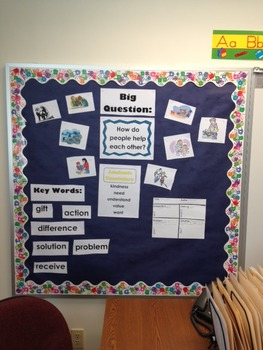 National Geographic Reach-Reading: Grade 3 - Unit 1 Bulletin Board & Vocab Cards