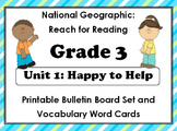 National Geographic Reach-Reading: Grade 3 - Unit 1 Bullet