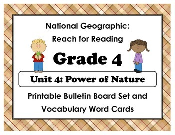 National Geographic Reach-Reading: Grade 4 - Unit 4 Bullet
