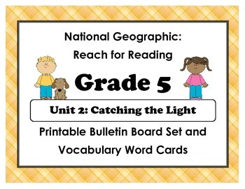 National Geographic Reach-Reading: Grade 5 - Unit 2 Bullet