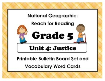 National Geographic Reach-Reading: Grade 5 - Unit 4 Bullet