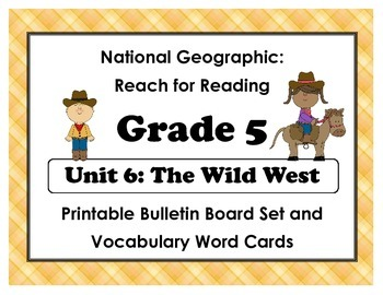 National Geographic Reach-Reading: Grade 5 - Unit 6 Bullet