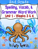 Nat'l Geographic Reach for Reading- Word Work Stations Gr 2-Unit 1-Week 3-4