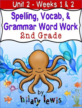 Nat'l Geographic Reach for Reading- Word Work Stations Gr 2-Unit 2-Week 1-2