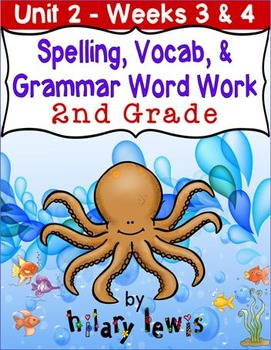 Nat'l Geographic Reach for Reading- Word Work Stations Gr 2-Unit 2-Week 3-4