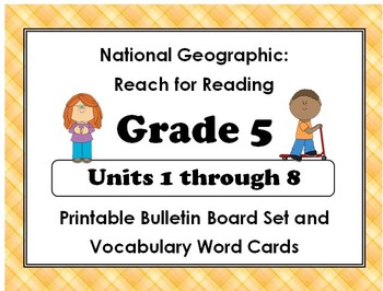 National Geographic Reach - Reading:Gr 5 Units 1-8 Bulleti