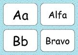 Nato Phonetic Alphabet Matching Cards