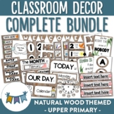 Natural Themed Classroom Decor for Upper Primary