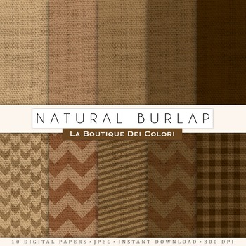 Natural Burlap Fabric Paper, scrapbook backgrounds.