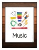 Natural Calming Learning Center Signs