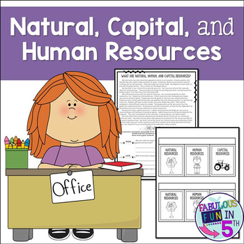 Natural Capital and Human Resources: Close Read and Foldable
