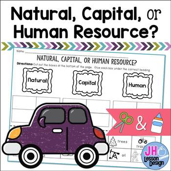 Natural Capital and Human Resources: Cut and Paste Sorting