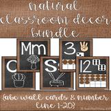 Natural Classroom Decor- BURLAP