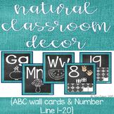 Natural Classroom Decor- Blue