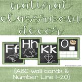 Natural Classroom Decor-Green