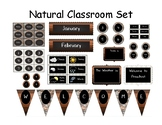 Natural Colors Classroom Decor Pack