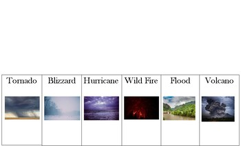 Natural Disaster Flip Book