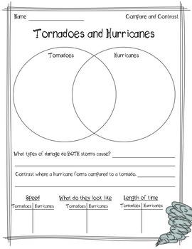 Natural Disaster Nonfiction Text Structure Passages