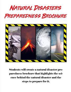 Natural Disaster Preparedness Brochure