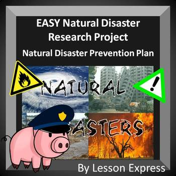 Natural Disaster Prevention Plan Research Project