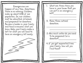 Natural Disaster Reader