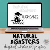 Digital Research Project: Natural Disasters