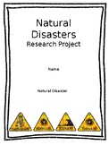 Natural Disaster Research Packet