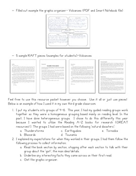Natural Disaster Research Project/RAFT assignment