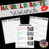 Natural Disaster Research Writing