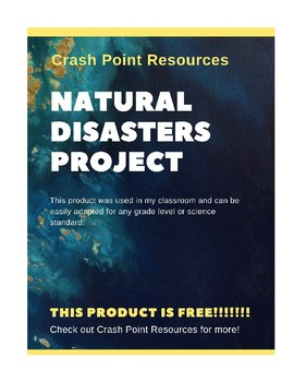 Natural Disaster Science Project