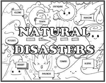 Natural Disaster Seek and Find  Science &  Research/ Presentation Combo