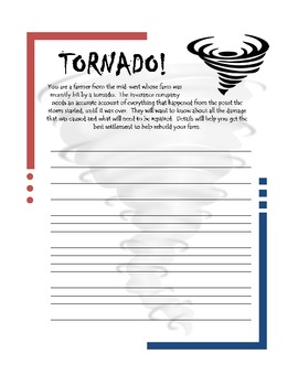 creative writing on natural disasters The resource below contains one hundred different prompts for stories each story starter is on a single card which can be used in a variety of ways.