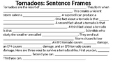 Natural Disaster Writing with Sentence Frames (Ready Gen)