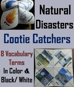 Natural Disasters Activity: Hurricane, Tornado etc (Severe
