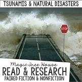 Magic Tree House Foldable Fiction & Nonfiction Bundle: Natural Disasters