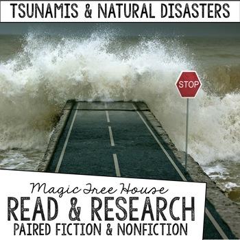 Magic Tree House Foldable Fiction & Nonfiction Bundle: Natural Disasters