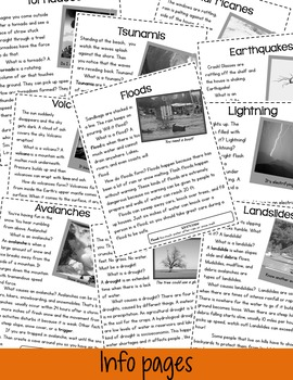 Natural Disasters! A Nonfiction Pack