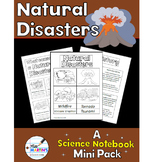 Natural Disasters: A Science Notebook Mini Pack