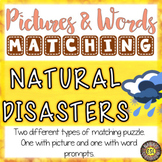Natural Disasters Activities for ESL teens Picture and Def