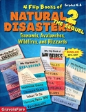 Natural Disasters BUNDLE #2 – Tsunamis, Avalanches, Wildfires, & Blizzards